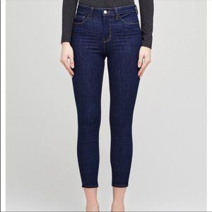 L'Agence Margot High Rise Crop Classic Dark 23
